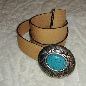 Boho Leather Belt